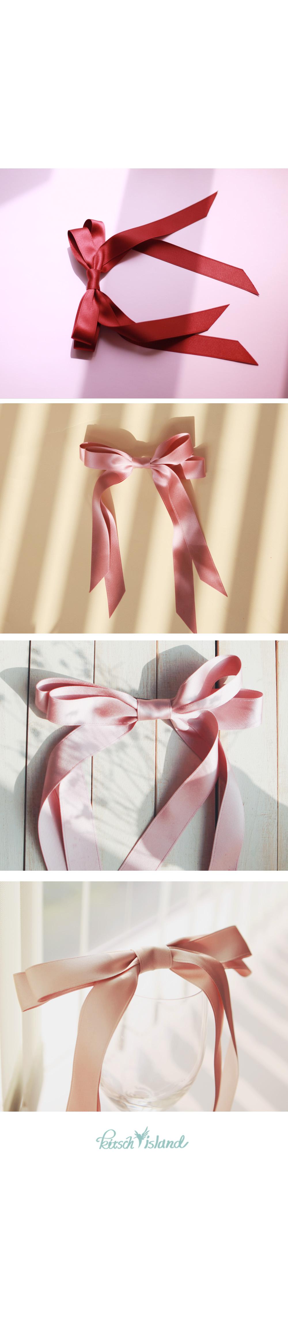 Super Ribbon 21cm 롱테일 - 키치아일랜드, 6,000원, 헤어핀/밴드/끈, 헤어핀/끈