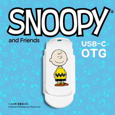 스누피 USB-C OTG 64G C-SN