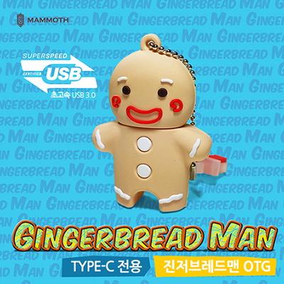 진저브레드맨 GU1600 TYPE-C OTG 3.0 64G