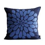 쿠션커버-큰꽃 시리즈2 파랑