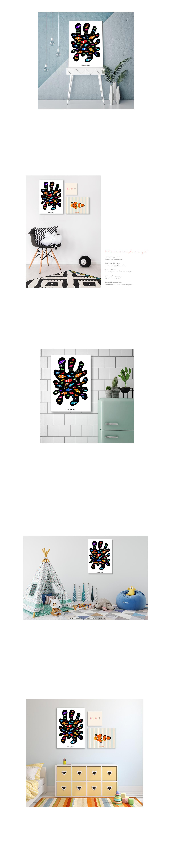 니모와 말미잘 일러스트 인테리어 캔버스 아이방 그림액자 - 모모스케치, 105,000원, 홈갤러리, 캔버스아트