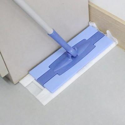 웰라이프 원터치부직포청소기(정전기 청소포64매)