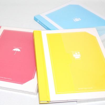칸나앨범 마카롱 사진영구보관 A4 접착식 사진앨범