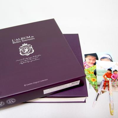 칸나앨범 이모션50매 솔리드 대용량 대형 접착식앨범