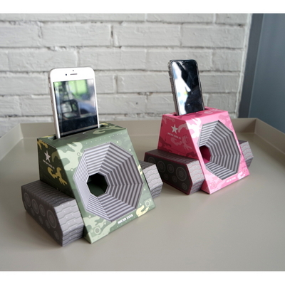 DIY 무전력스피커 사운드탱크 스마트폰스피커