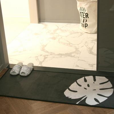 디쿠 초극세사 다용도 매트 - 몬스테라(120x50cm)