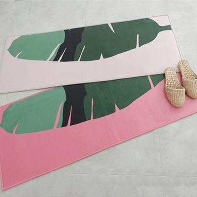 디쿠 초극세사 다용도 매트 - 바나나리프(120x50cm)
