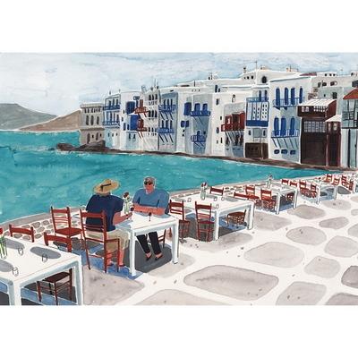 그리스의 아침