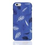 (Phone Case) Blue Leaf