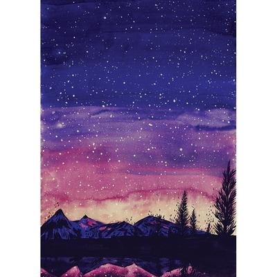 별 가득한 밤
