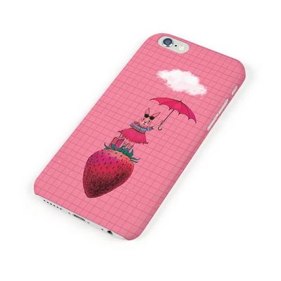 (Phone Case)딸기 토끼