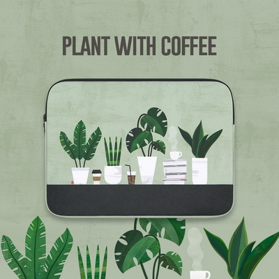 Plant with coffee (11-13-15인치)