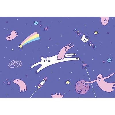 고냥이와 달파리의 우주여행