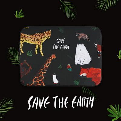 Save the earth_Black (아이패드-11-13-15형)