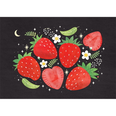Strawberries- 일러스트 액자