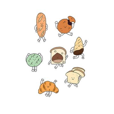 빵즈- 일러스트 액자