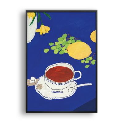 청포도와 레몬- 일러스트 액자