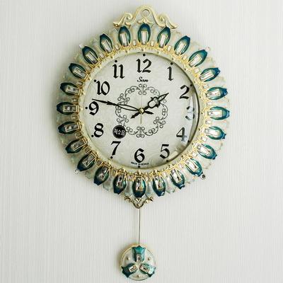 플라워큐빅 추벽시계