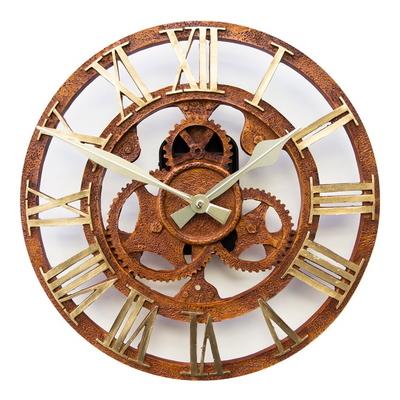 톱니바퀴 엔틱 벽시계