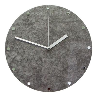 그레이 그로시마블 무소음 인테리어 벽시계