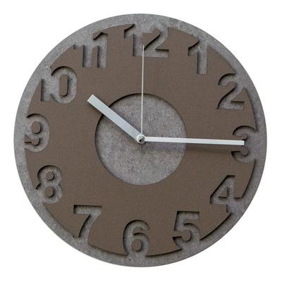 빈티지 투톤 무소음 인테리어벽시계