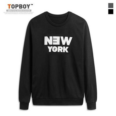 뉴욕 기모 맨투맨 티셔츠 (ZA102)