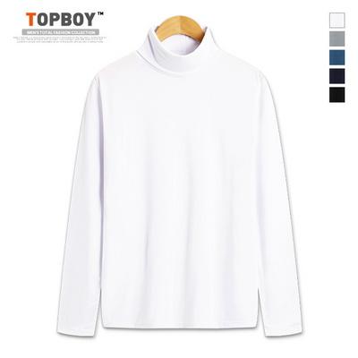 심플 피치기모 폴라 티셔츠 (CR158)