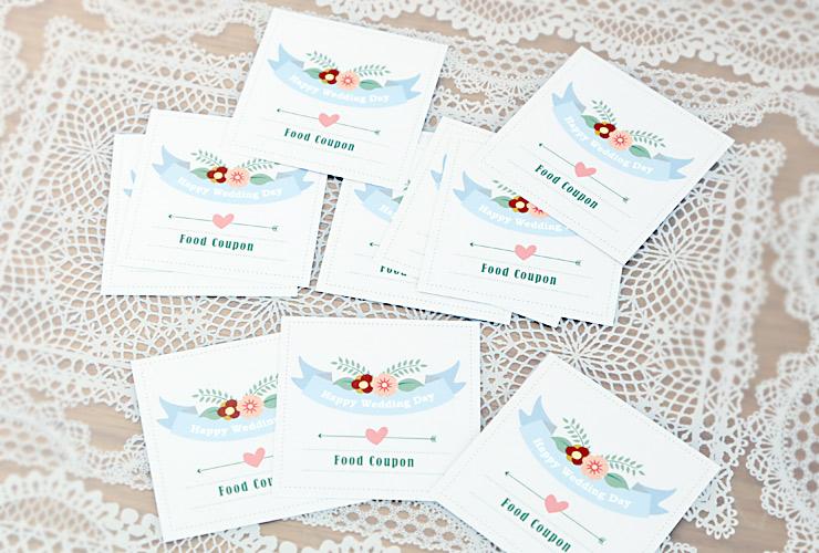 해피웨딩데이 어린이 식권 - 미스타이니, 1,000원, 카드, 시즌/테마 카드