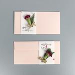 핑크 카네이션 용돈봉투