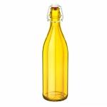 보르미올리 밀폐유리병 옥스포드 1L(옐로우)/밀폐물병/와이어물병/카페유리병/bormioli rocco oxford bottle