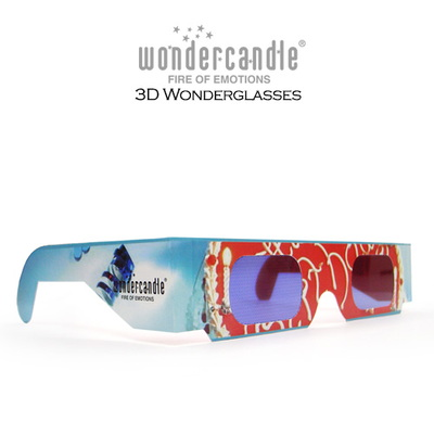 Wondercandle 3D Wonderglasses (3 in All)