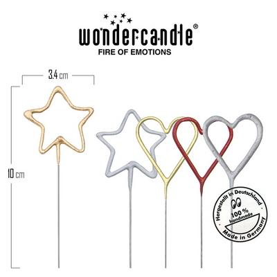 독일 원더캔들 Wondercandle Sparkler Firework Mini 스파클러 캔들 미니 불꽃놀이