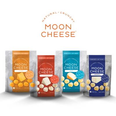 미국 내추럴 크런치 문치즈 4종 세트(MoonCheese 4 Set)