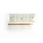 A.CHECK PENCIL CASE_TRANSPARENCE