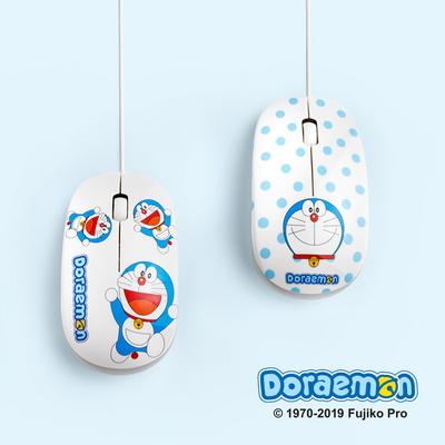 도라에몽 LED 램프 유선마우스 DM-208