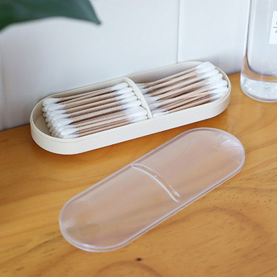 휴대용 면봉 화장솜 케이스