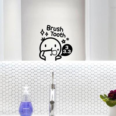 밥풀이의 욕실스티커 Set