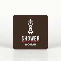 루리앤메리 031 샤워룸 여자 포인트 안내판