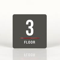 루리앤메리 48 층호수 주문제작 01 포인트 안내판