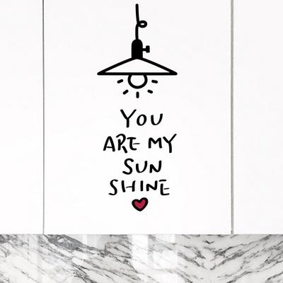 넌 나의 태양 456 손글씨스티커