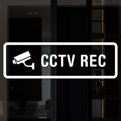 루리앤메리도어사인 스티커 모음 135 CCTV REC