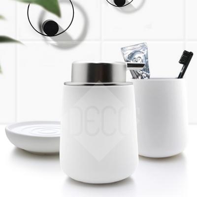 존덴마크 노바솝디스펜서+텀블러+비누홀더세트 화이트