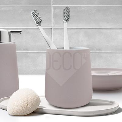 존덴마크 노바 텀블러 크림 욕실용품 칫솔홀더 양치컵