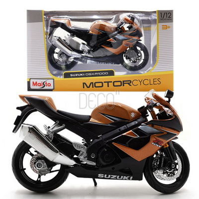 1-12 SUZUKI CSX-R1000 스즈키 오토바이 미니카
