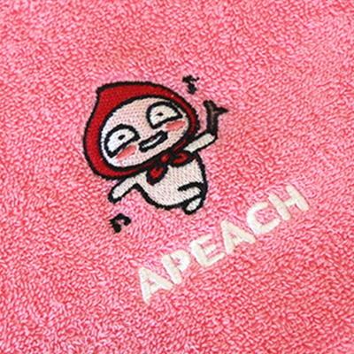카카오프렌즈 세면타올 150g 1p - 어피치(핑크)