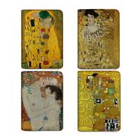 클림트의 황금빛 명화시리즈 수제여권지갑