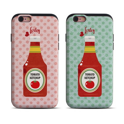 LG G6_슬라이드범퍼 Lovely Ketchup (2color)