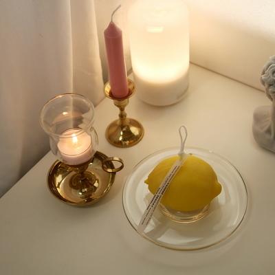 LEMON CANDLE  레몬캔들 (가로형)
