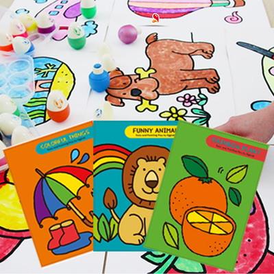 색칠공부 에그톡 그림책 3종 시리즈