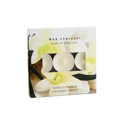 [콜로니 정품] 잉글랜드 티라이트 바닐라 플라워 - Wax Lyrical England Tealights Vanilla Flower